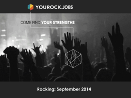 YouRock.Jobs - WordPress.com