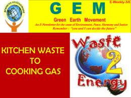 Waste to energy - St. Francis Xavier Church , Panvel