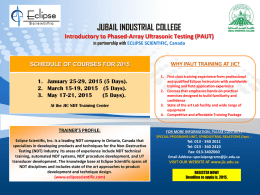 PowerPoint Template - Jubail Industrial College