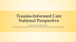 File - 2014 Trauma Informed Care Conference