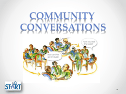 Community Conversations PPT