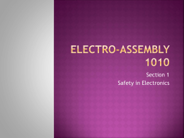 Safety in Electronics