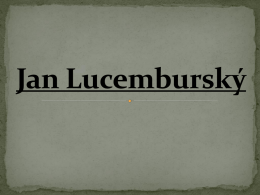 Jan Lucemburský III