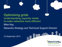 Optimising grids - Electricity North West