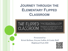 Journey through the Elementary Flipped Classroom
