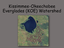 Kissimmee-Okeechobee Everglades (KOE) Watershed