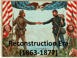 Reconstruction PPt