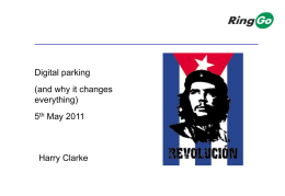 How that disrupts the parking value chain