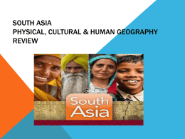 SOUTH ASIA CORNELL NOTES ACTIVITY