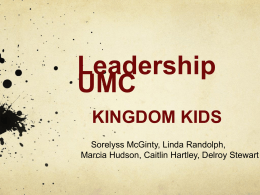 team-kingdomkids - North Georgia United Methodist Conference