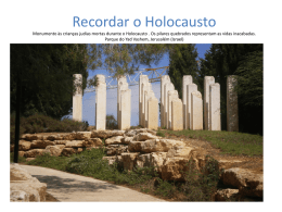 Recordar o Holocausto