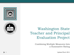 Summative Rating and Impact on Student Learning Matrix