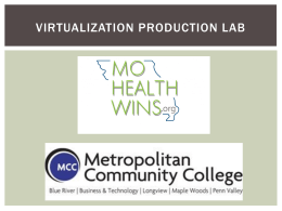 Virtualization Production Lab powerpoints