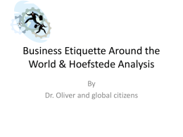 Business Etiquette Around the World