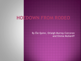 Hoedown from Rodeo
