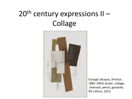 20th century expressions 2 - General Education @ Gymea