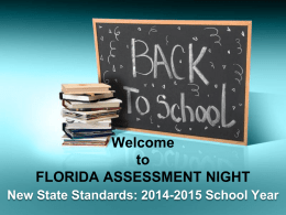 The Florida Standards - Doral Academy Elementary School