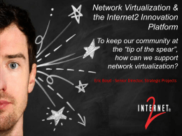 how can we support network virtualization?