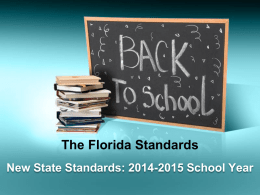 The Florida Standards