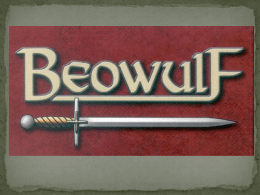 BEOWULF The Battle with Grendel