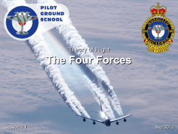 Theory of Flight - Four Forces