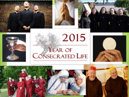 Year for Consecrated Life PowerPoint