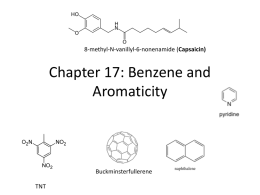 Chapter 17 Aromaticity