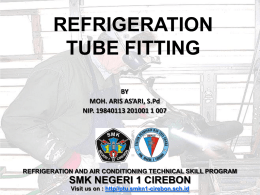 SOLDERING AND BRAZING REFRIGERATION PIPE