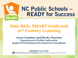 SMART Goals for 21st Century Learning Rosman