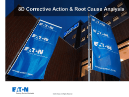 Corrective Action - Cooper Industries