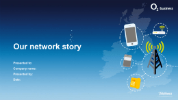 Our network story - Curveball Solutions