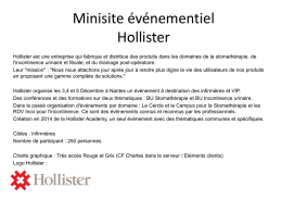 Brief Mini site Hollister