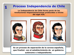Independencia de Chile