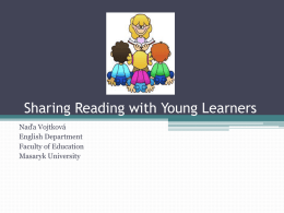 Sharing Reading with Young Learners