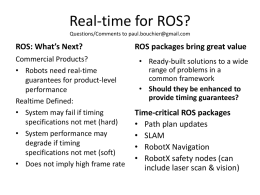 Real time ROS