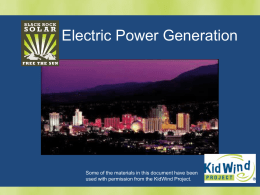 Energy Trail – Powerpoint Presentation