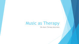 Capstone 2 Music Therapy Data