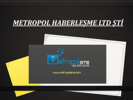 indir - Metropol| Sms Data Center / Toplu Sms Sistemi