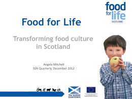 Food for Life - Keep Scotland Beautiful