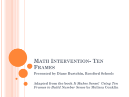 Math Intervention