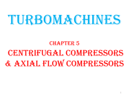 5. centrifugal compressors and axial compressors