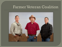 Farmer Veteran Coalition - National AgrAbility Project