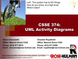 session28-ActivityDiagrams - Rose
