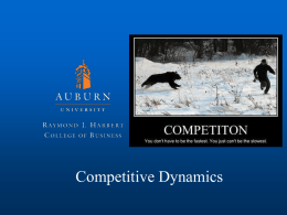 05 Competitive Dynamics