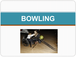 Bowling ppt