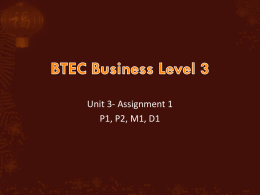 BTEC-Business-U3-A1