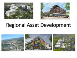 Regional Asset Development - Wamego Chamber of Commerce