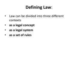 Intro to Natural vs Positive Law  - macdonald
