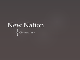 New Nation Notes