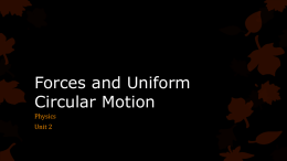 02-Forces and Uniform Circular Motion